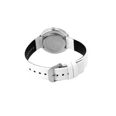 Dezine Wrist Watch For Women - White_DZ-LR071-WHT-WHT