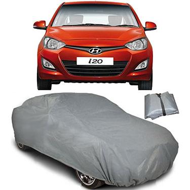 Digitru Car Body Cover for Hyundai i20 - Dark Grey
