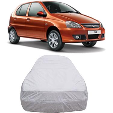 Digitru Car Body Cover for Tata Indica V2 - Silver