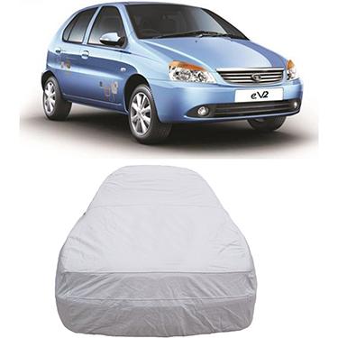Digitru Car Body Cover for Tata Indica eV2 - Silver