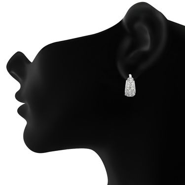 Mahi Rhodium Plated Artificial Earrings_Er1102103r