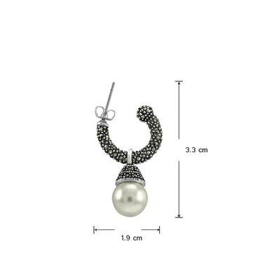 Mahi Rhodium Plated Artificial Earrings_Er1107046r