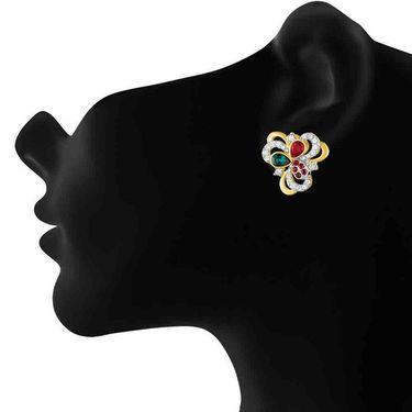 Mahi Gold Plated Artificial Earrings_Er1194133g