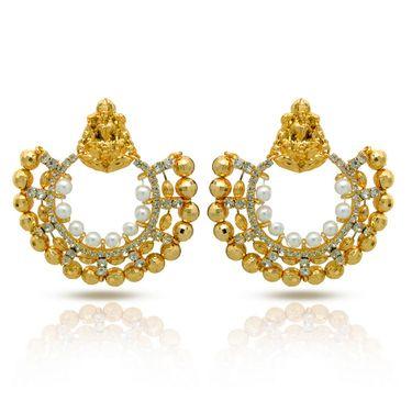 Branded Gold Plated Artificial Earrings_Er30032g