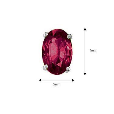 Mahi Rhodium Plated Artificial Earrings_Er3102003mar