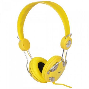 Envent ET-HP043-YL Musime On-The-Ear Wired Headphones - Yellow