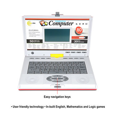 Educational Talking Laptop with 80 Activities