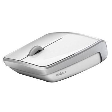 Envent Dazzle Slim USB Mouse - White