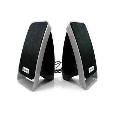 Enzatec SP307 Dynamic Series Speaker - Silver