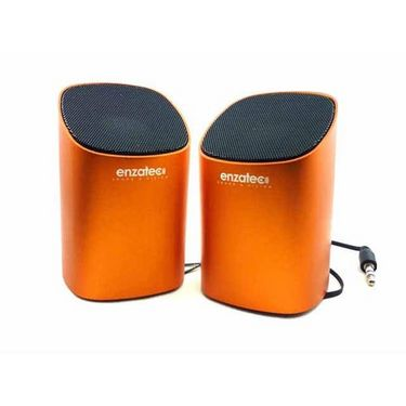 Enzatec SP302 Metallica Retractable Speaker - Orange