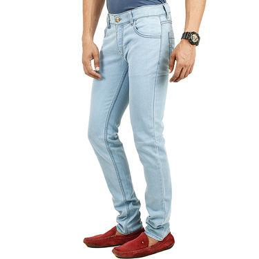 Combo of Cotton Jeans + Casual Belt_D211b234