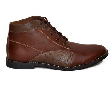 Stylox Faux Leather Boots FA-STY-SH-5044-Brown