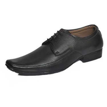 Stylox Faux Leather Formal Shoes Fa-Sty-Sh-8718 -Black