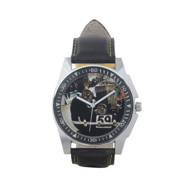 Fidato Round Dial Analog Watch_fdmw44 - Multicolor