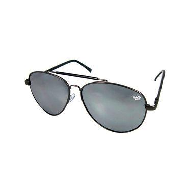 Flying Machine Aviator Sunglasses_fms107205 - Grey