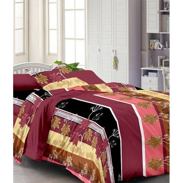 Set of 2 Single Bedsheet with 2 Pillow Cover-1214-1120