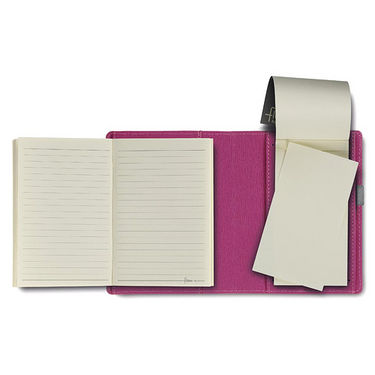 Flex Filled Pocket Note Book - Magenta
