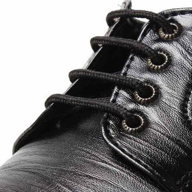 Foot n Style Smart Derby Shoes - Black