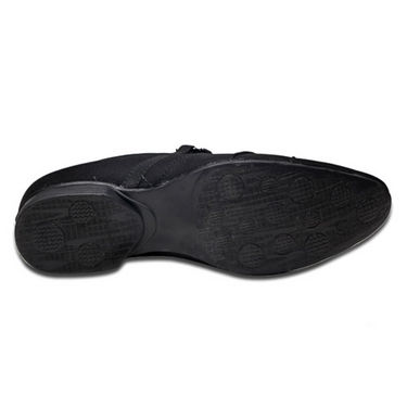 Foot n Style Unruffled Slip on Shoes - Black
