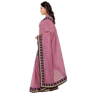 Indian Women Georgette Printed Saree -GA20130