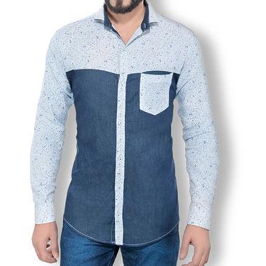 Pack of 3 Good Karma Cotton Premium Designer Shirts_Gkc008 - Mulitcolor