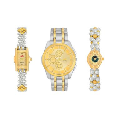 Pack of 3 Branded Men & Women Watches_Gl0113