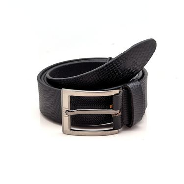 Porcupine Pure Leather Belt - Black_GRJBELT2-5