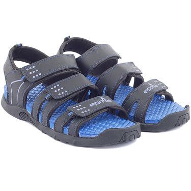 Branded Floater and Sandal for Men Gs-033-Blue