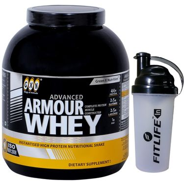 GXN Advance Armour Whey 5 Lb (2.26kgs) Chocolate Flavor + Free Protein Shaker