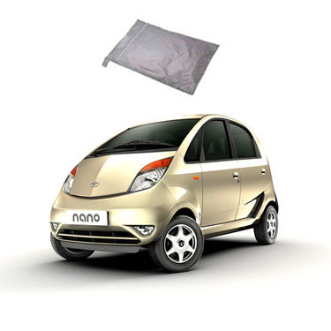 Galaxy Car Body Cover Tata Nano - Silver
