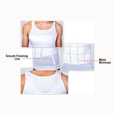 Get In Shape Slimming Vest for Men - Pack of 2