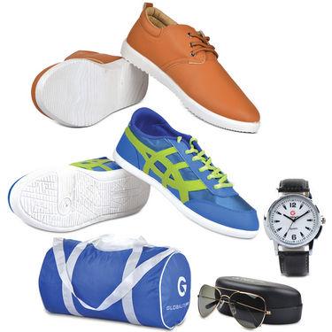 Globalite Trendy Footwear Combo