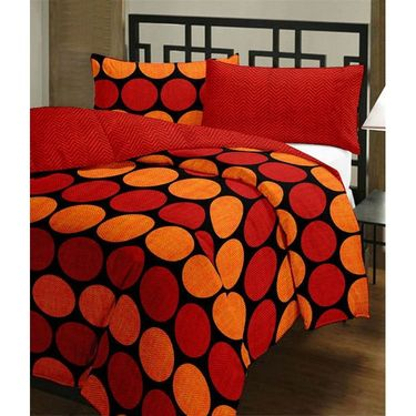 eCraftIndia Designer Printed Single Bed Reversible AC Blanket-HFBD142