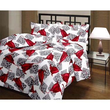 eCraftIndia Designer Printed Single Bed Reversible AC Blanket-HFBD170