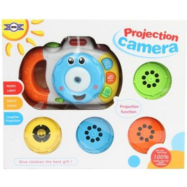 Laugh & Learning Camera With Music And Light - Multicolor