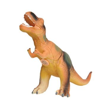 Alectrosaurus Dinosaur With Real Sound Big Size - Multicolor