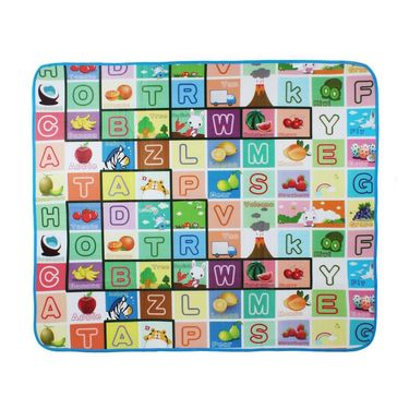 Water Resistant Learning Play Mat Large - Multicolor