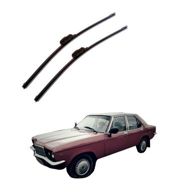 Autofurnish Frameless Wiper Blades for HM Contessa (D)18