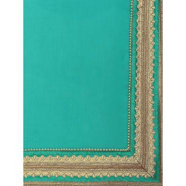 Indian Women Moss Chiffon Printed Saree -HT71012