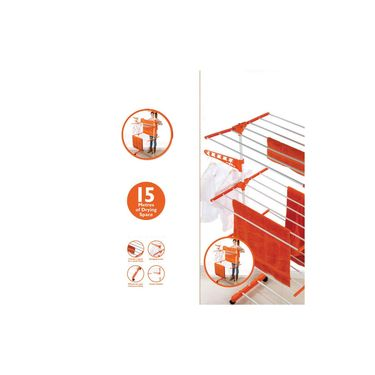 Kawachi Mild Steel Cloth Drying Stand-I32