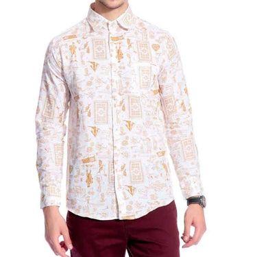Pack of 3 Good Karma Cotton Premium Designer Shirts_Gkc001 - Mulitcolor