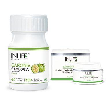 Inch Management Combo Of Slimming Gel & Garcinia Cambogia (60% HCA)