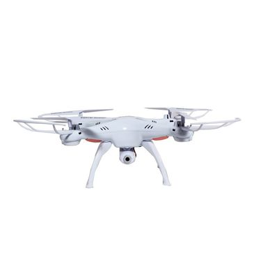 Quadcopter with FPV Camera For Real Time Video - White