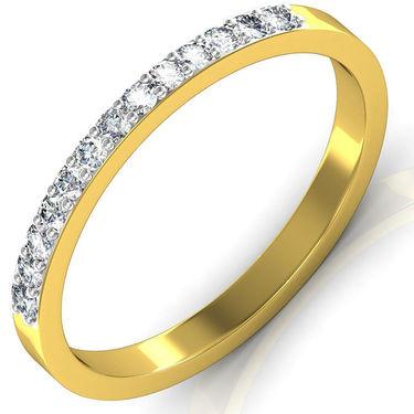 Avsar Real Gold & Swarovski Stone Kaveri Ring_I080yb