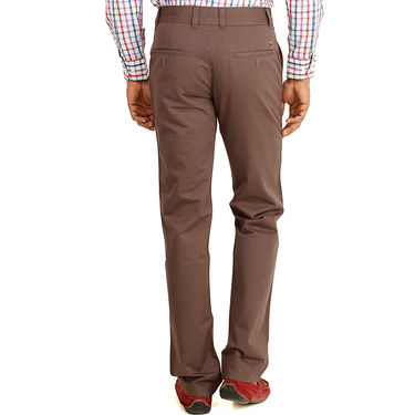 Pack of 2 Cotton Regular Fit Chinos_J110 - Brown & Cream