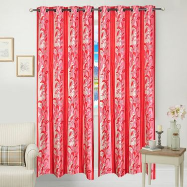 JBG Home Store Set of 2 Beautiful Design Door Curtains-JBG922_1MLD