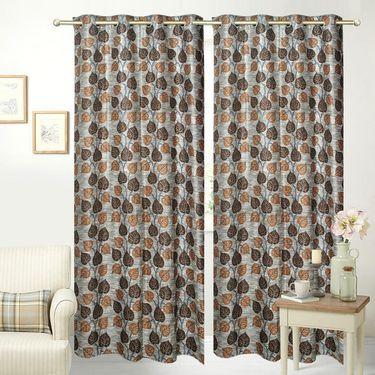 JBG Home Store Set of 2 Beautiful Design Door Curtains-JBG933_1BBLD