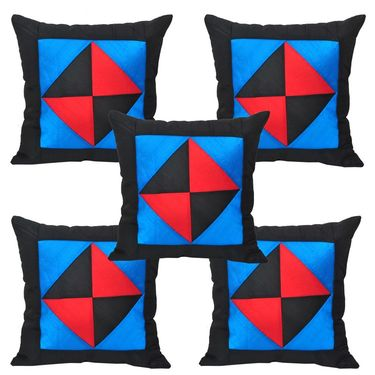 Set of 5 Multicolor Floral Cushion covers - JBG_BKT