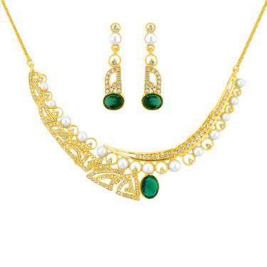 Jpearls Maya Pearl Fashion Necklace Set - NESJ759