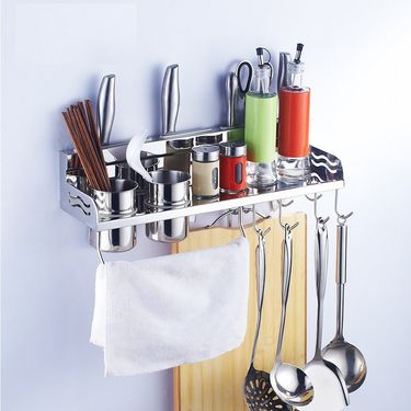 Kawachi Space Aluminum Kitchen Rack 40cm k-217